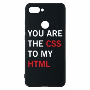 Phone case for Xiaomi Mi8 Lite You are the css