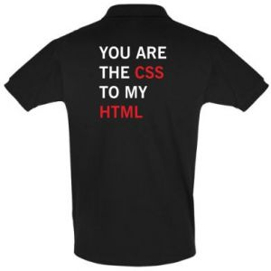 Men's Polo shirt You are the css