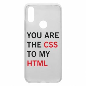 Phone case for Xiaomi Redmi 7 You are the css