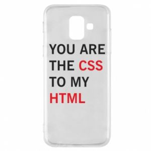Etui na Samsung A6 2018 You are the css