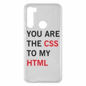 Etui na Xiaomi Redmi Note 8 You are the css