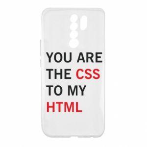 Etui na Xiaomi Redmi 9 You are the css