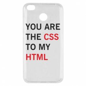 Etui na Xiaomi Redmi 4X You are the css