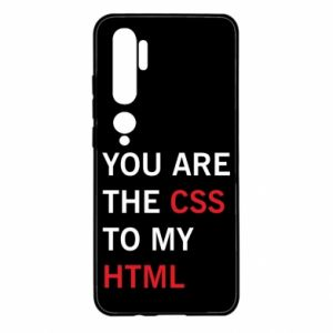 Xiaomi Mi Note 10 Case You are the css