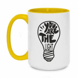 Kubek dwukolorowy 450ml You are the light