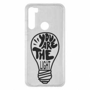 Etui na Xiaomi Redmi Note 8 You are the light