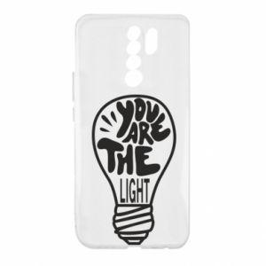 Etui na Xiaomi Redmi 9 You are the light