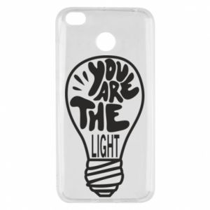 Etui na Xiaomi Redmi 4X You are the light