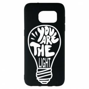 Etui na Samsung S7 EDGE You are the light