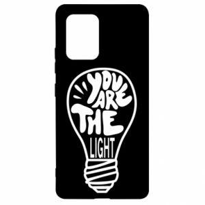 Etui na Samsung S10 Lite You are the light