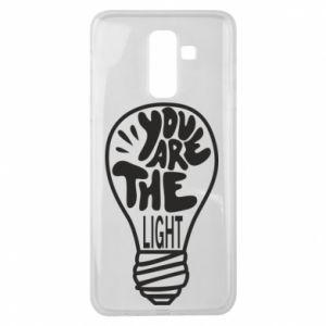 Etui na Samsung J8 2018 You are the light