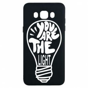 Etui na Samsung J7 2016 You are the light