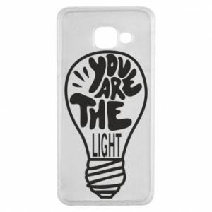Etui na Samsung A3 2016 You are the light