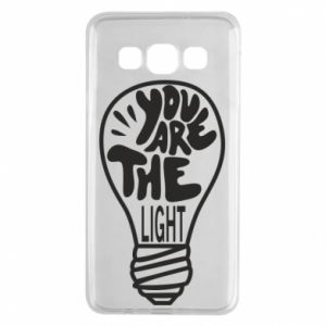Etui na Samsung A3 2015 You are the light