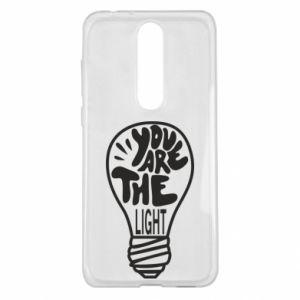 Etui na Nokia 5.1 Plus You are the light