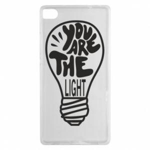 Etui na Huawei P8 You are the light