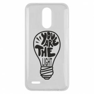 Etui na Lg K10 2017 You are the light