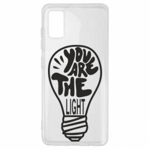 Etui na Samsung A41 You are the light