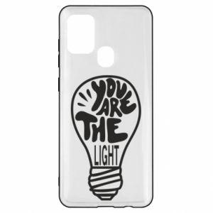 Etui na Samsung A21s You are the light