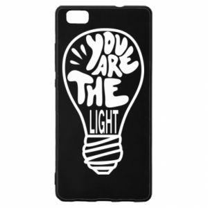 Etui na Huawei P 8 Lite You are the light