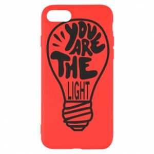 Etui na iPhone SE 2020 You are the light