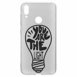 Etui na Huawei Y7 2019 You are the light