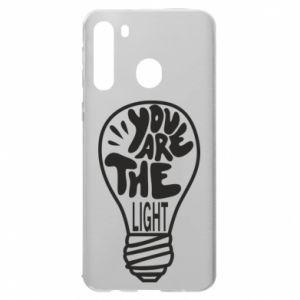 Etui na Samsung A21 You are the light