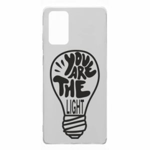 Etui na Samsung Note 20 You are the light