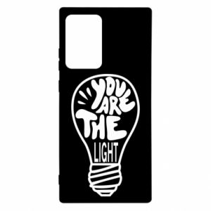 Etui na Samsung Note 20 Ultra You are the light