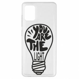 Etui na Samsung A51 You are the light