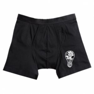 Boxer trunks You are the light