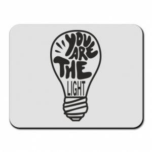 Podkładka pod mysz You are the light
