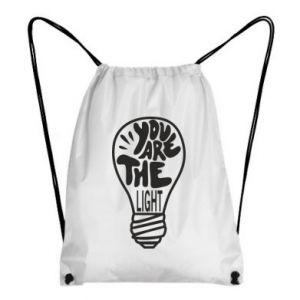 Plecak-worek You are the light