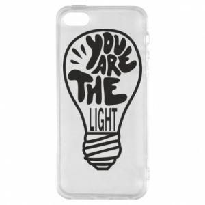 Etui na iPhone 5/5S/SE You are the light