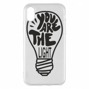 Etui na iPhone X/Xs You are the light
