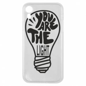 Etui na iPhone XR You are the light