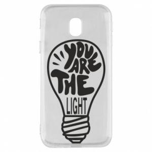 Etui na Samsung J3 2017 You are the light
