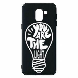 Etui na Samsung J6 You are the light