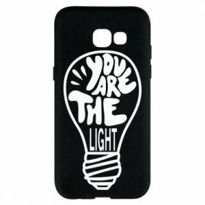 Etui na Samsung A5 2017 You are the light