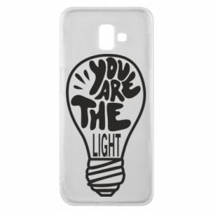 Etui na Samsung J6 Plus 2018 You are the light