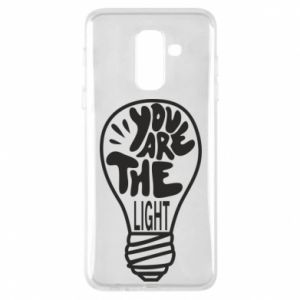 Etui na Samsung A6+ 2018 You are the light