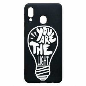 Etui na Samsung A20 You are the light