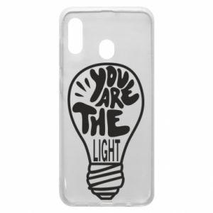 Etui na Samsung A30 You are the light