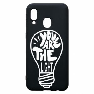 Etui na Samsung A40 You are the light