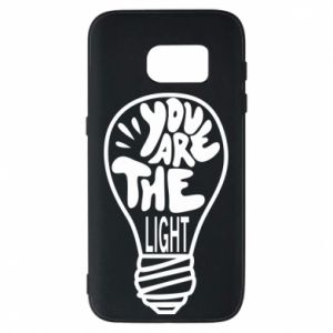 Etui na Samsung S7 You are the light
