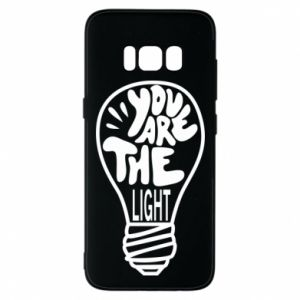 Etui na Samsung S8 You are the light