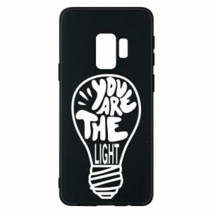 Etui na Samsung S9 You are the light