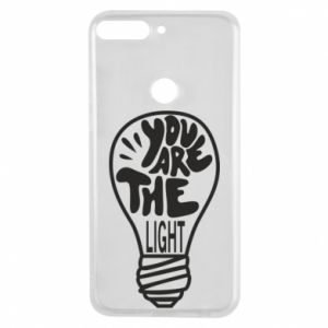 Etui na Huawei Y7 Prime 2018 You are the light