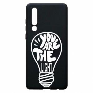Etui na Huawei P30 You are the light