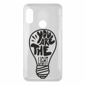 Etui na Mi A2 Lite You are the light